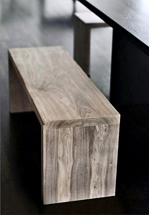 bench from mo+mo#Repin By:Pinterest++ for iPad#: Benches Ideas, Kitchens Design, Kitchens Benches, Wood Benches, Diy Wooden Cradles, Furniture Wood Design, Benches Seats, Wooden Benches Diy, Diy Benches Design