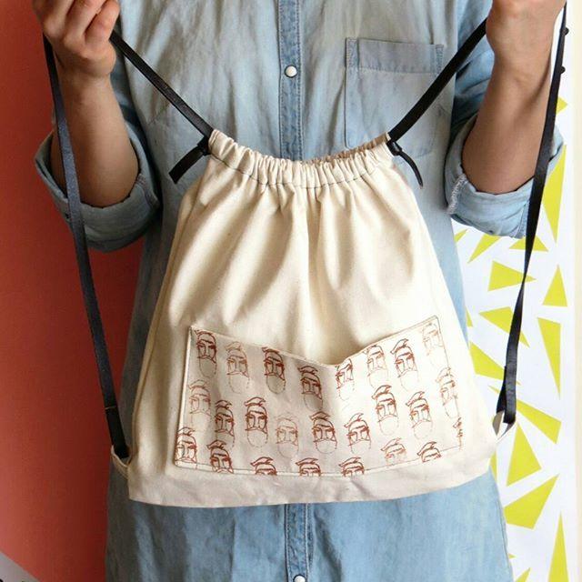 """Nuestras mochilas: """"Barbados y enojados"""" •  •  •    #mochila #backpack #mochilas  #color #estampado #instamoda #moda #bolso #bolsos #cajica  #hechoencasa #hechoamano  #makersgonamake #screen #INSANNIA"""