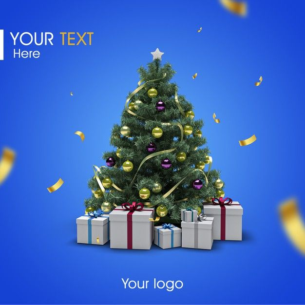 Freepik Graphic Resources For Everyone Merry Christmas Card Greetings Creative Christmas Trees Christmas Templates