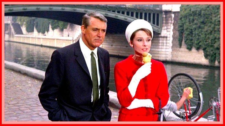 Charade (1963 ) | Cary Grant, Audrey Hepburn | #Hollywood Movies