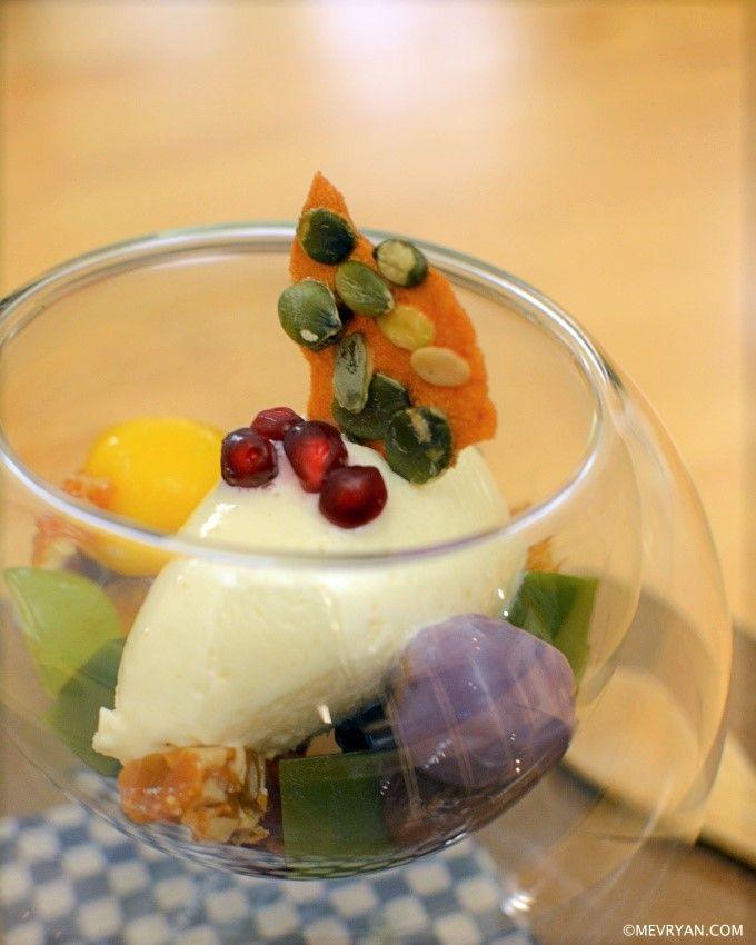 Japans dessert toetje van restaurant Yama in Rotterdam © mevryan.com #Japans #restaurant #Rotterdam #nagerecht #dessert #toetje