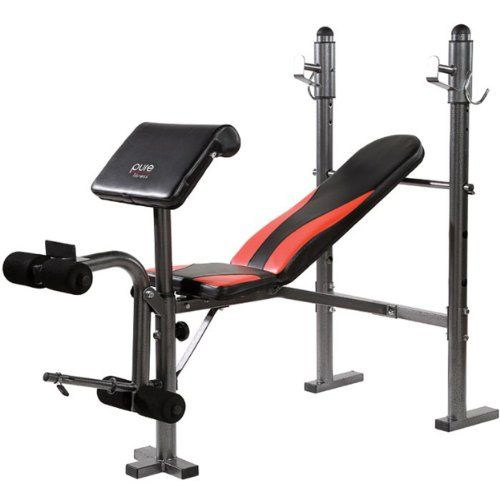 Buy Pure Fitness Multi Purpose Weight Bench The Pure Fitness Mid Width Bench  With