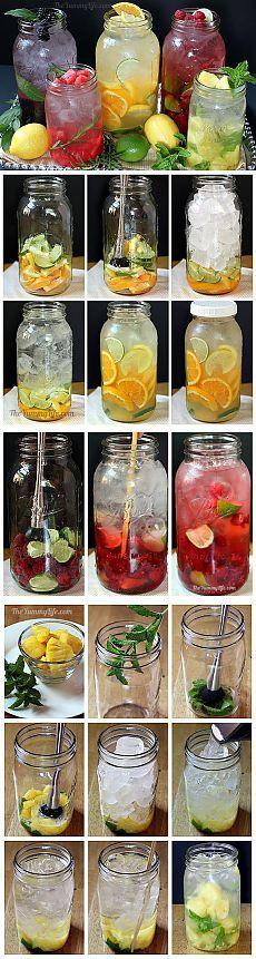 Рецепты приготовления полезной и вкусной воды из фруктов и трав с фото в домашних условиях