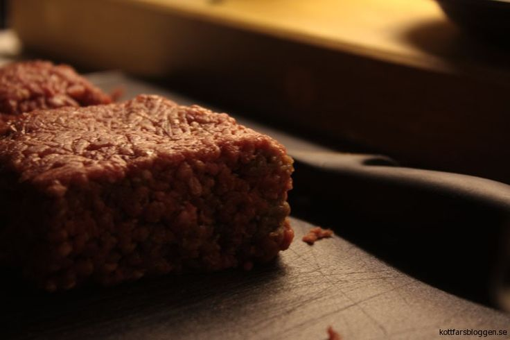 En kub med köttfärs #mat #köttfärs
