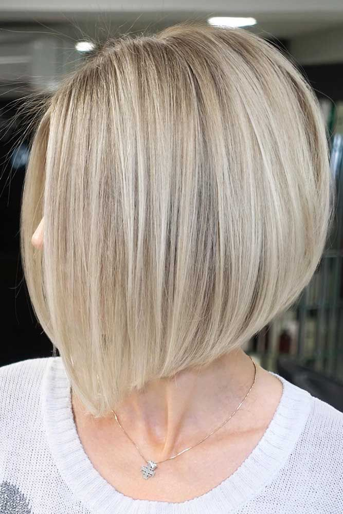 57 Blonde Short Hairstyles For Round Faces Medium Bob Hairstyles Thick Hair Styles Bob Hairstyles