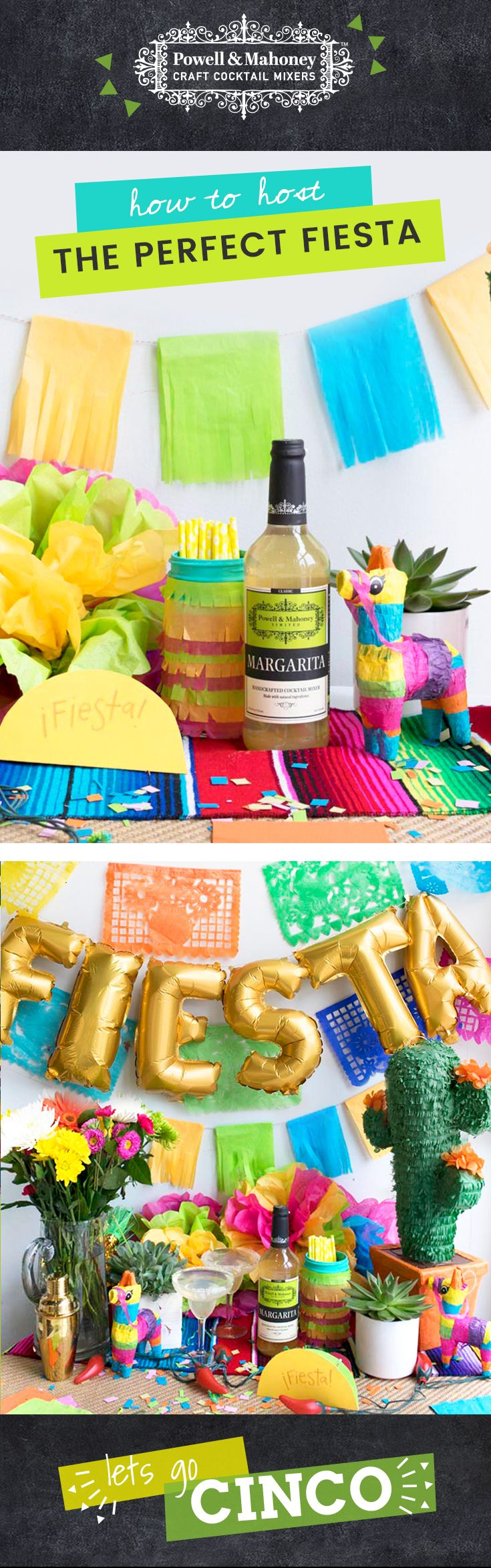 Fiesta table decorations ideas - Throw The Ultimate Fiesta With These Easy Cinco De Mayo Crafts And Table Decorations