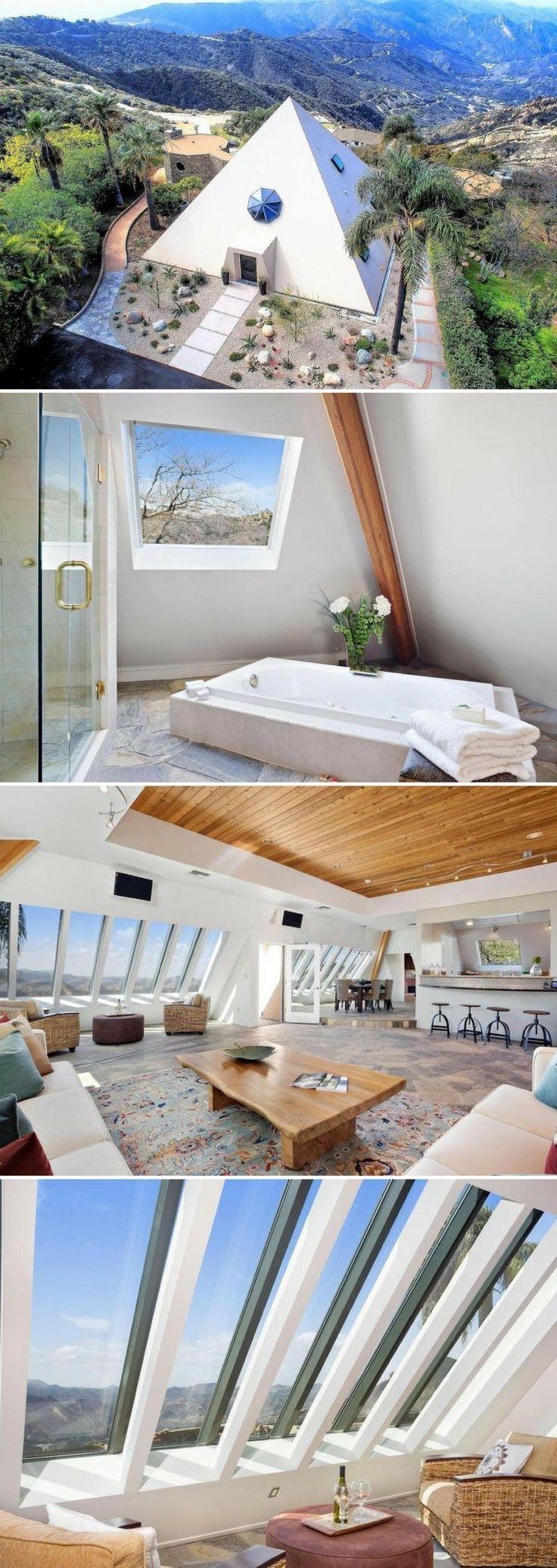 Thinking Outside the Box: Malibu's $3.1M Pyramid House Offers 'Amazing Energy'