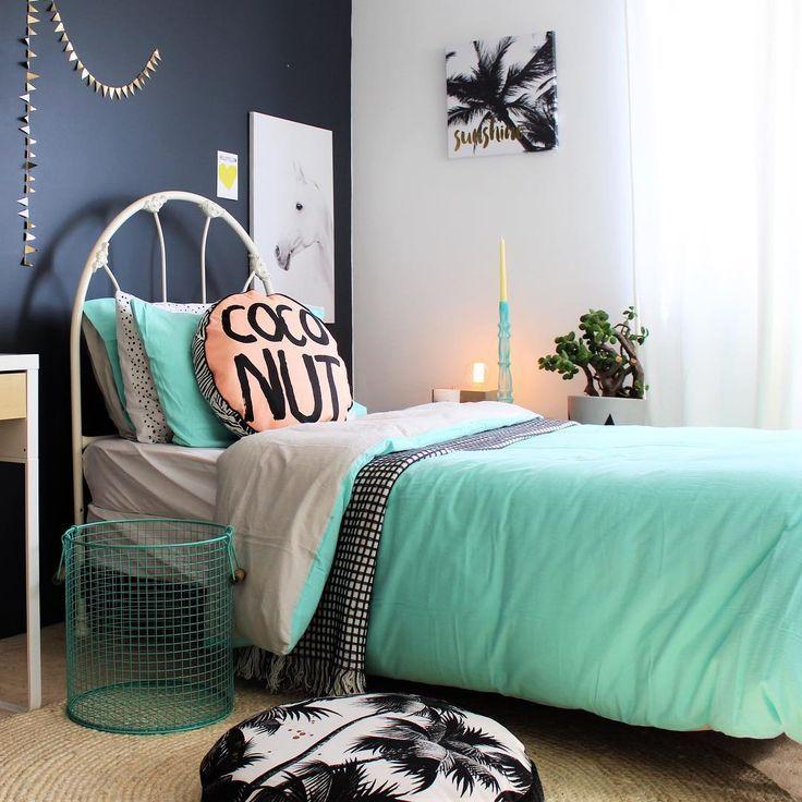 Tropical Room Decor Teenage Bedroom Girls Bedroom Girl Bedroom