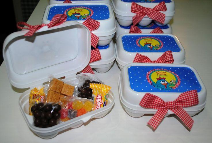 Kit Lembrancinha Festa Infantil da Galinha Pintadinha