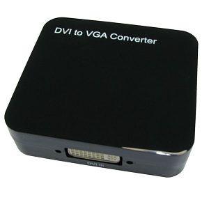 TVCables DVI-D to VGA Converter DVI-D to VGA Converter converts DVI-D digital to VGA analogue. Connect a DVI-D output to a VGA HD15 input. http://www.MightGet.com/february-2017-3/tvcables-dvi-d-to-vga-converter.asp