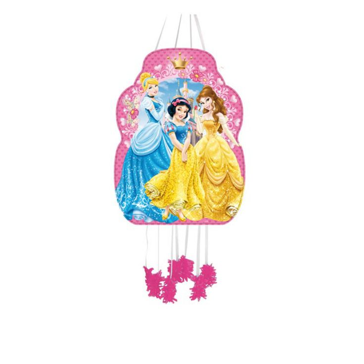 Piñata Perfil Princesas Disney #fiestacumpleaños #cumpleañosdisney #decoracioncumpleaños