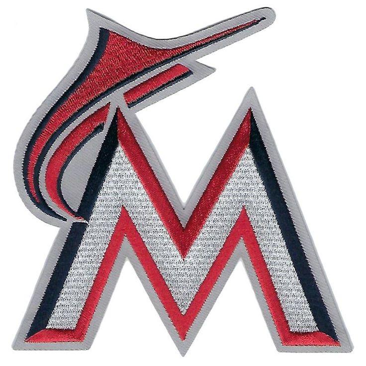 Miami Marlins Stars & Stripes Logo Patch