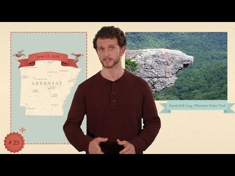 This YouTube channel has a 2+ min video for each state with  capital, state flower, state tree, state bird, state motto, and major attractions