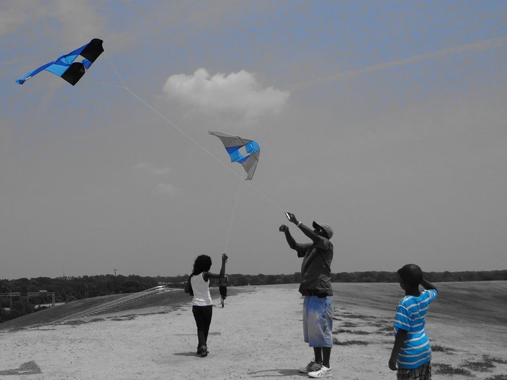 High Flying at Mt. Trashmore in Virginia Beach.