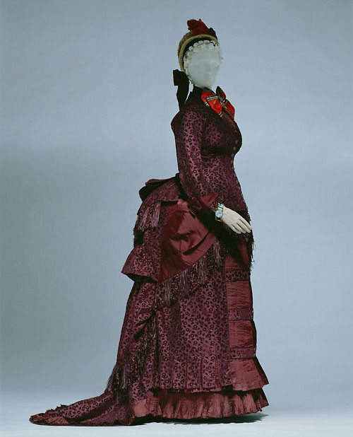 Day Dress    Emile Pingat, 1883    The Kyoto Costume Institute