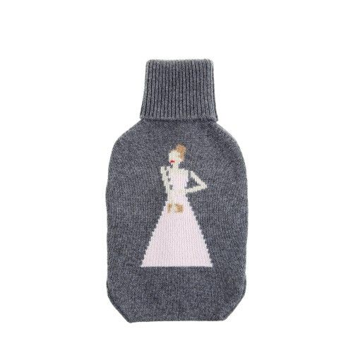 BURBERRY | 'The Beauty' cashmere hot water bottle cover | €335 colette.fr | US$450 burberry.com