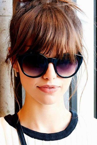 40+ Bangs Hairstyles You Need to Try Ideas