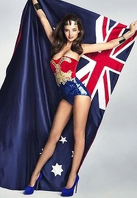 LOVING Miranda for Australia Day 2012! :)