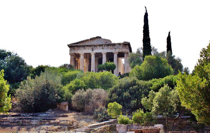 L'agora antique d'Athènes, Grèce #grece