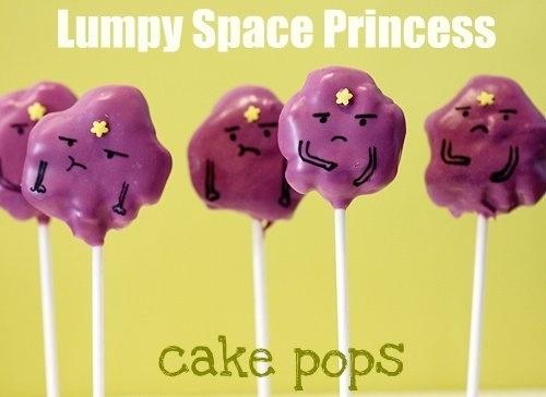 How To Make Lumpy Space Princess Cake Pops