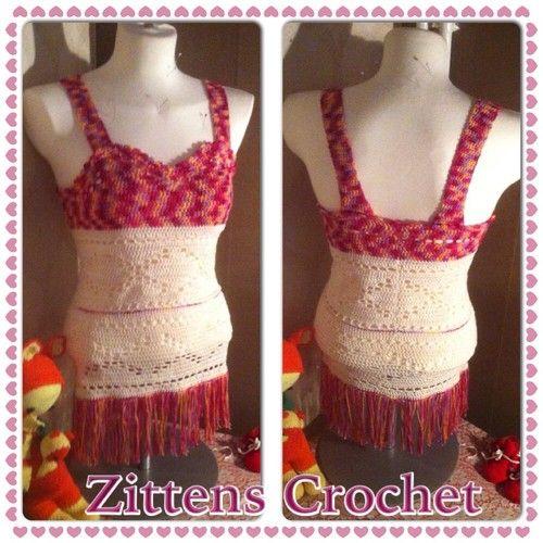 Zittens ♥ - Virkad tunica - sommarlätt
