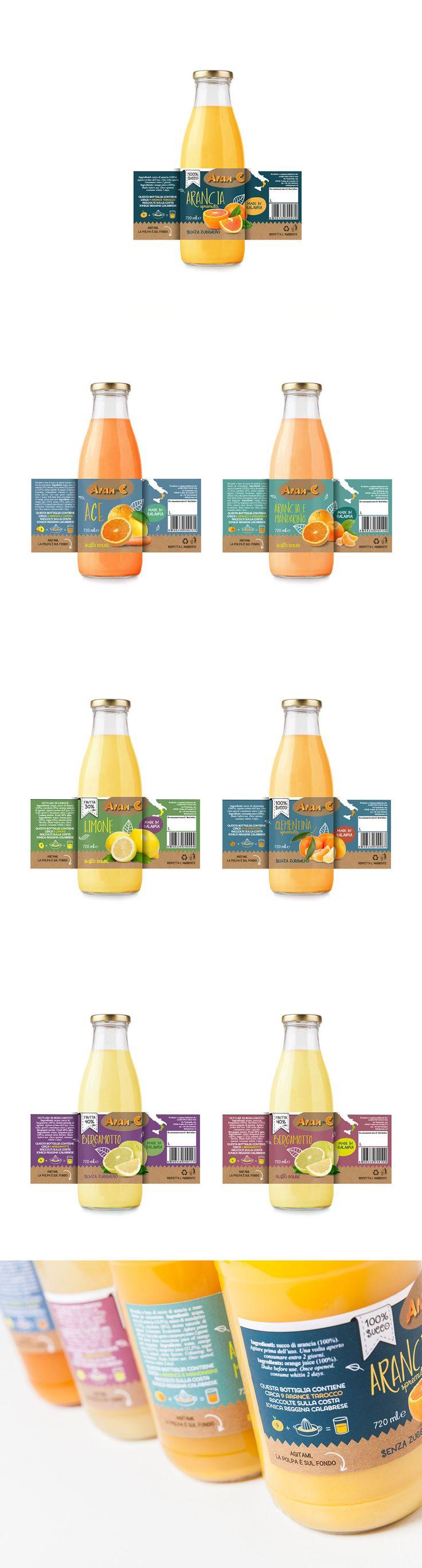 Packaging - citrus juices