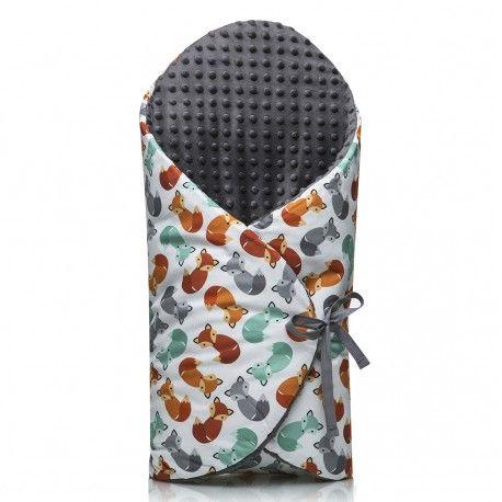 Magnifique gigoteuse d'emmaillotage pour réchauffer et protéger bébé dès sa naissance. Produit labellisé innovation 2016 Un cadeau naissance idéal