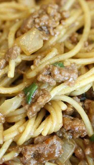 Spicy Szechuan Noodles with Beef Sauce