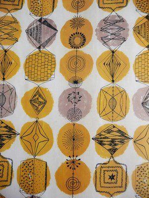 Lucienne Day Textile Designer