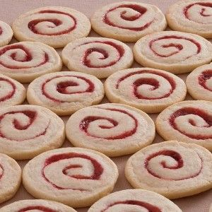 Raspberry Spiral Cookies #livemoredaily