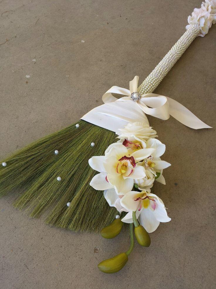wedding broom jump the broom