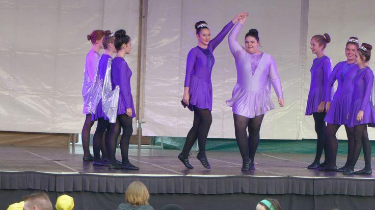 Irish dancers at the Harmony Soiree