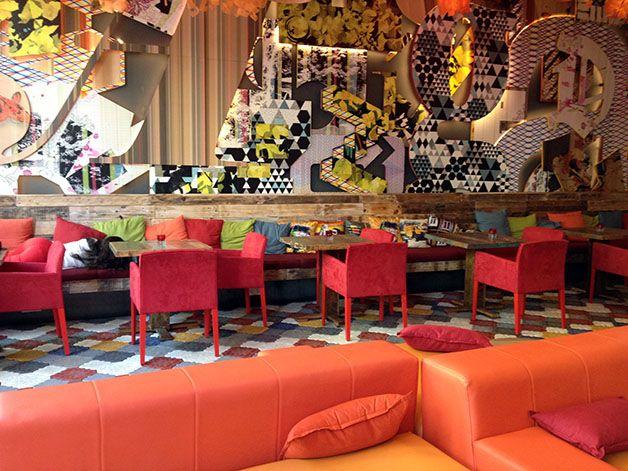 Visite déco : le Generator Barcelona / Vous aussi, faites de vos murs votre décor ! www.vivamural.com