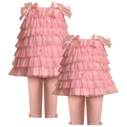 Amazon Bonnie Jean Baby NEWBORN 3M 9M 2 Piece PINK