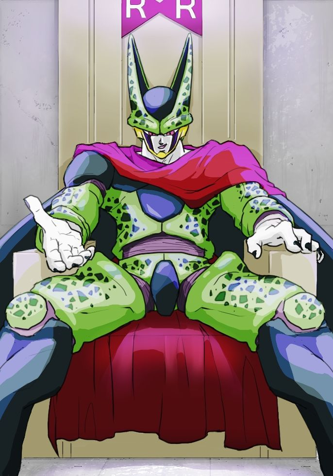 Now imagine if Cell dressed like this during the Cell Games :) MAN, this is awesome! - Visit now for 3D Dragon Ball Z compression shirts now on sale! #dragonball #dbz #dragonballsuper