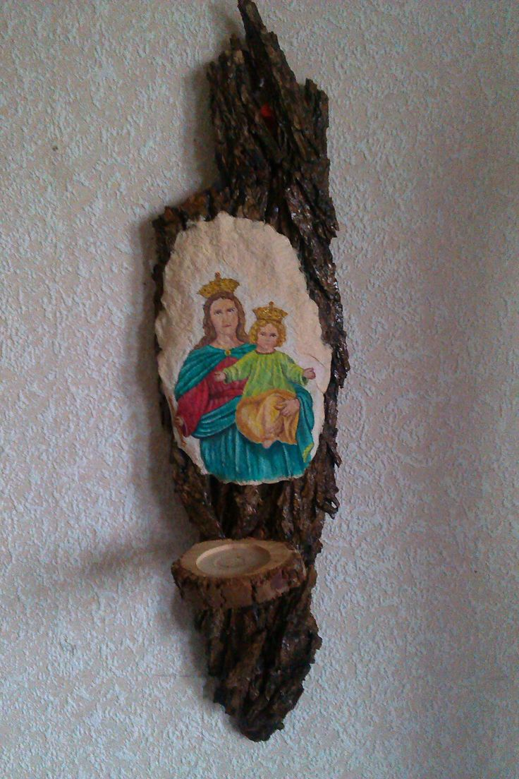 Madonna and Child, hand made paper. Webshop - fredrikalinse.tictail.com
