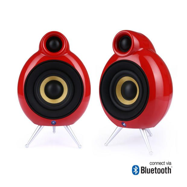 MicroPod_bluetooth_red 3 #activespeakers #speakers #lifestyle #micropod #głośniki #bluetooth
