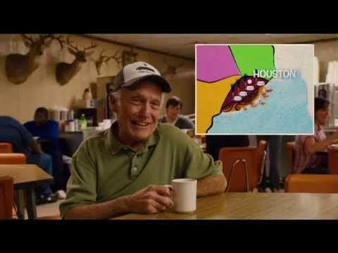 http://miglexfilms.com  Bernie Movie - Carthage, TX resident describes the '5 States' of Texas.