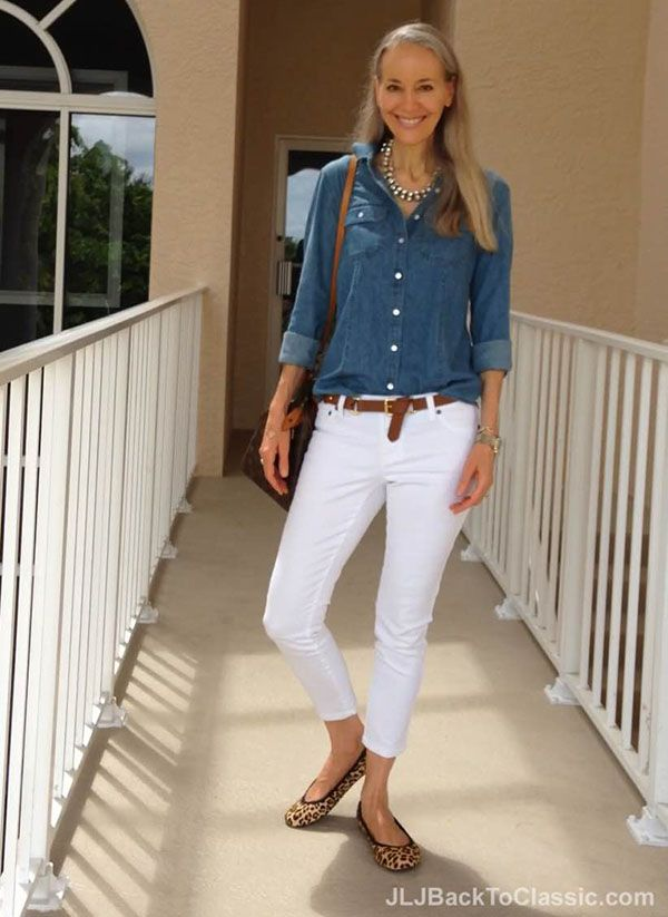 136 best images about How to Wear: Chambray Shirt on Pinterest