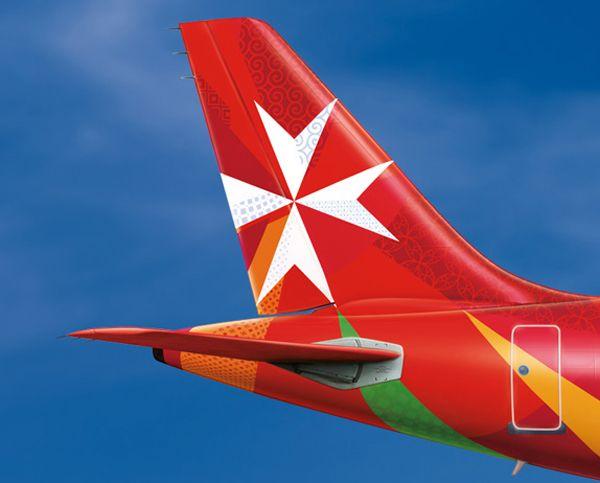 Air Malta's new brand identity