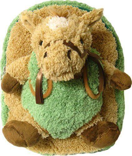 Kreative Kids Plush Green Horse Backpack & Stuffie Buddy for Little Ones