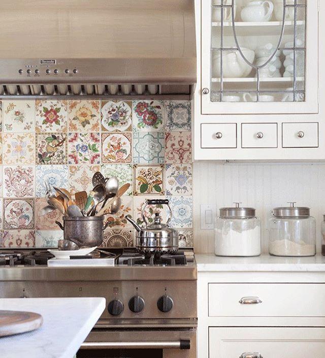Country Kitchen Tile Backsplash Ideas: 78 Best Ideas About Cottage Kitchen Backsplash On