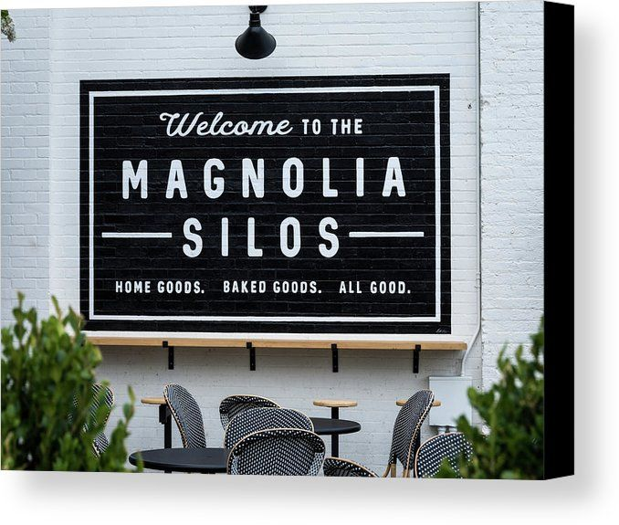 Magnolia Market Bakery Canvas Print featuring the photograph Magnolia Market Bakery by Debra Martz