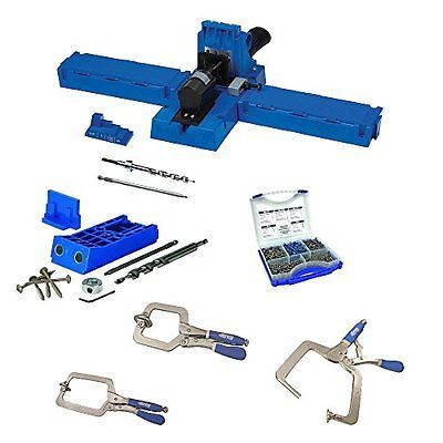 Jigs and Templates 179686: Kreg K5 Pocket-Hole Jig With Kjhd, Sk03 And 3 Face Clamp Kit -> BUY IT NOW ONLY: $289.99 on eBay!