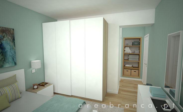 Suite - Depois #areabranca #decoraçãointeriores #designinteriores #interiordesign #suite