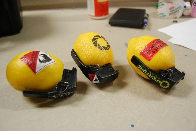 the combustible lemon grenade! #portal2