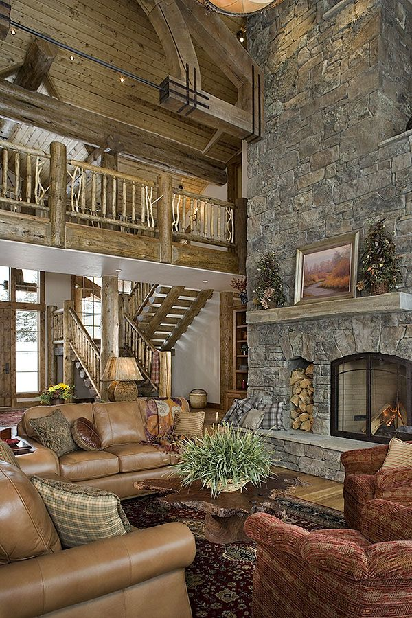Love the staircase and balcony.