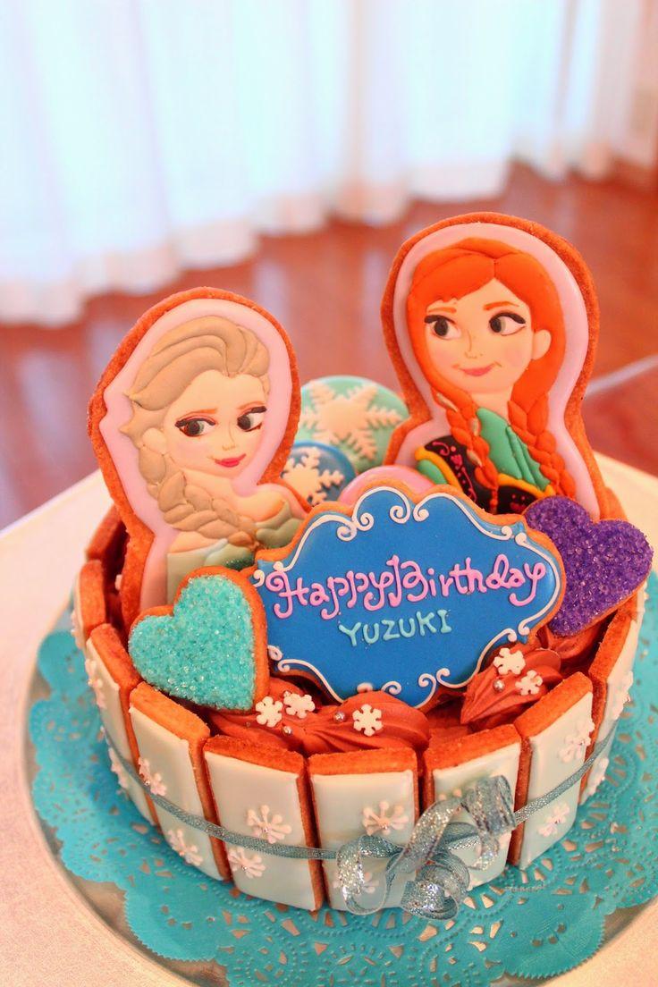 Frozen アナと雪の女王 Birthday cake!