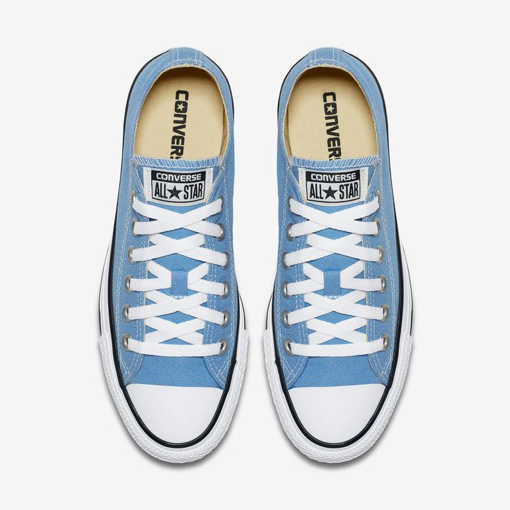 Womens Converse Shoes Light Blue Chuck Taylor All Star Ox Low Top 157650F