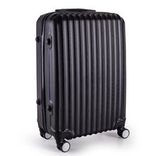"KUNDUI 20 24""inch lovely stripe trolley suitcase luggage durable traveller case ABS+PC Pull Rod trunk boarding bag Women Girl //FREE Shipping Worldwide //"